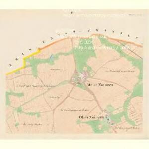 Mitter Zwinzen - c6137-1-002 - Kaiserpflichtexemplar der Landkarten des stabilen Katasters