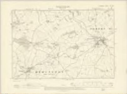 Somerset XXI.SW - OS Six-Inch Map