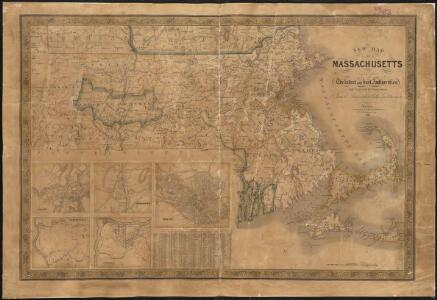 A new map of Massachusetts compiled from the latest and best authorities