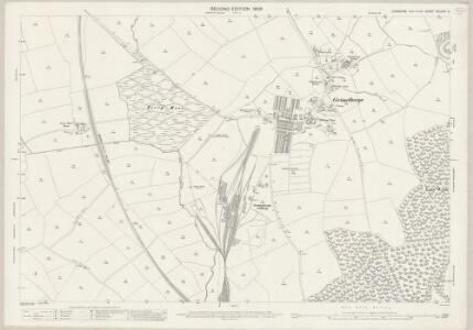 Yorkshire CCLXXV.2 (includes: Brierley; Cudworth; Great Houghton; Shafton) - 25 Inch Map