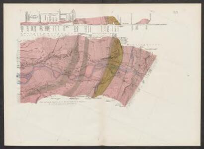 Geologische Uebersichtskarte der Gotthardbahnstrecke
