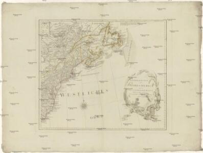Generalkarte von Nord America samt den westindischen Inseln
