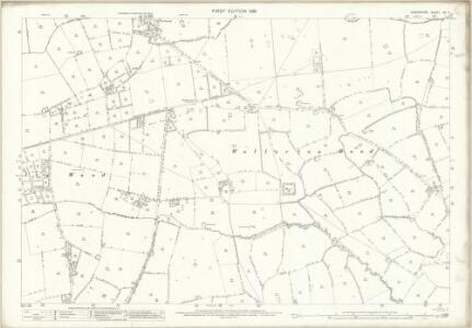 Shropshire XV.11 (includes: Hodnet; Prees) - 25 Inch Map
