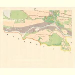 Zubrzy (Zubřzy) - m3614-1-012 - Kaiserpflichtexemplar der Landkarten des stabilen Katasters