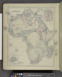 Africa ; Delta of The Nile; Island of St.Helena