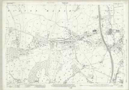 Wiltshire XLIV.11 (includes: Chapmanslade; Dilton Marsh; Westbury) - 25 Inch Map