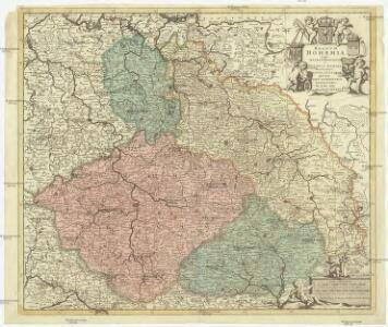 Regnum Bohemiae eique annexae provinciae ut ducatus Silesiae marchionatus Moraviae et Lusatiae quae sunt terrae haereditariae imperatoris