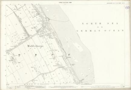 Lincolnshire LVIII.5 (includes: Mablethorpe; Trusthorpe) - 25 Inch Map