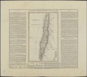 Geographisch-statistische und historische Charte von Chile