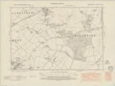 Bedfordshire XXI.SW - OS Six-Inch Map