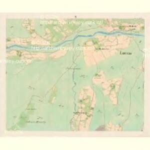 Lomna (Lomno) - m0508-1-009 - Kaiserpflichtexemplar der Landkarten des stabilen Katasters