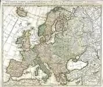 Nouvelle carte de l'Europe