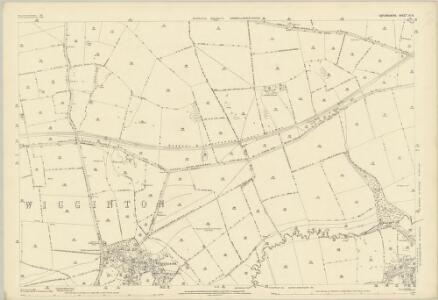 Oxfordshire IX.10 (includes: Milcombe; South Newington; Wigginton) - 25 Inch Map