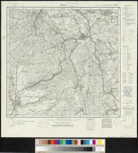 Meßtischblatt 2294 : Horn, 1932