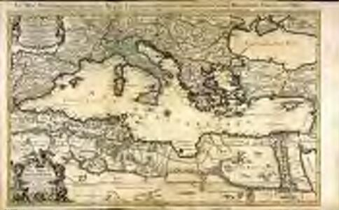 La mer Mediterranée