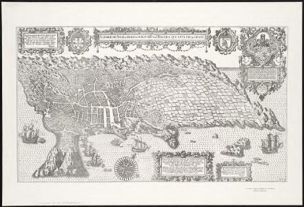 A cidade de Angra na ilha de Iesu xpo da Tercera que esta em 39. graos.
