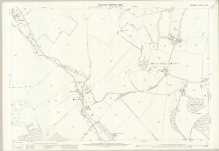 Wiltshire XXIV.13 (includes: Aldbourne; Baydon; Ramsbury) - 25 Inch Map