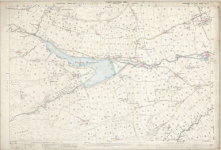 Yorkshire CC.9 (includes: Keighley) - 25 Inch Map