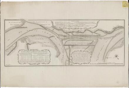 Plan van het nieuwe kanaal door den eertyds Bylandschen nu Hollandschen Waard, zo als het zelve by eene Inspectie en Peilingen in het begin van Maart 1775 gesitueert was,: met byvoeging van een gedeelte der rivier bovenwaards tot aan de Zalmoortsche Ryswa