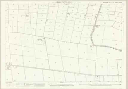 Lincolnshire CXXXIII.3 (includes: Gosberton; Pinchbeck) - 25 Inch Map