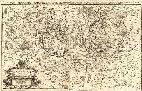 Das Marggraf- und Churfürstenthum Brandenburg