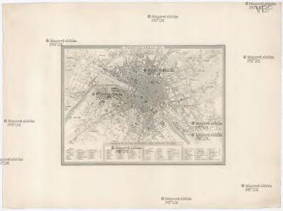 Plan von Paris 1835
