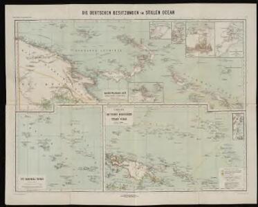 Die deutschen Besitzungen im Stillen Ozean