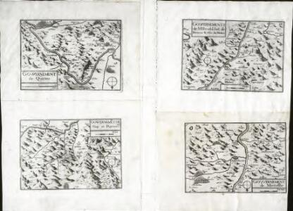 Govvernement de Mo[n]tmelia[n], fort de Barraux [et] cha[tea]u de Miolans