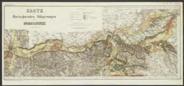 Karte der fluvioglacialen Ablagerungen in der Nordschweiz