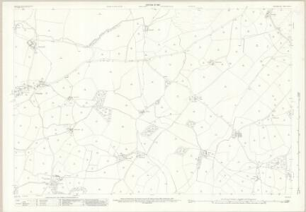 Westmorland XXXIV.11 (includes: Grayrigg; Lambrigg) - 25 Inch Map