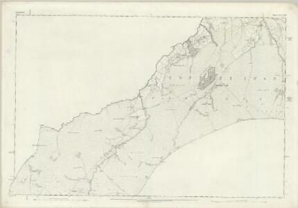 Denbighshire XXX (inset XXXa) - OS Six-Inch Map