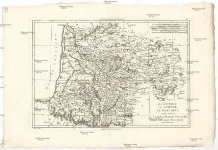 Gouvernement de Guienne et Gascogne, avec celui de Bearn et Basse Navarre