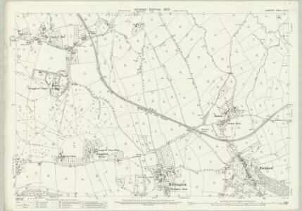 Somerset XVIII.2 (includes: Blagdon; Burrington; Churchill; Wrington) - 25 Inch Map