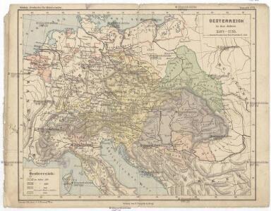Oesterreich in den Jahren 1564-1795