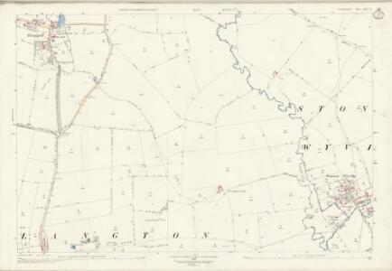 Leicestershire XLV.4 (includes: Shangton; Stonton Wyville; Tur Langton) - 25 Inch Map