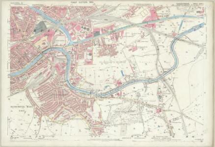 Gloucestershire LXXVI.1 (includes: Bristol) - 25 Inch Map