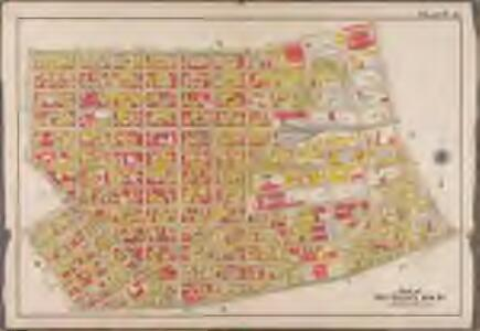 Plate 15: [Bounded by Teneyck Street, Morgan Avenue, Knickerbocker Avenue, Brooklyn and Newton Avenue, Harrison Avenue, Lorimer Street, Broadway and Union Avenue.]; Atlas of the borough of Brooklyn, city of New York: from actual surveys and official plans by George W. and Walter S. Bromley.