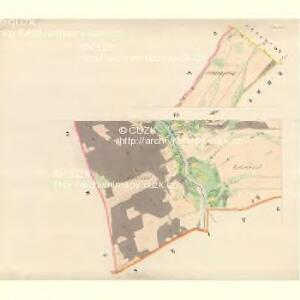 Söhle (Zilina) - m3665-1-006 - Kaiserpflichtexemplar der Landkarten des stabilen Katasters