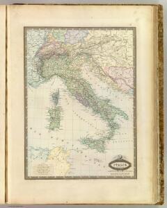 Italie en 1861.