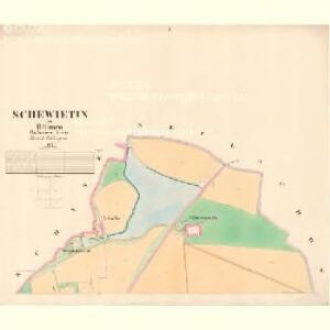 Schewietin - c7721-1-001 - Kaiserpflichtexemplar der Landkarten des stabilen Katasters