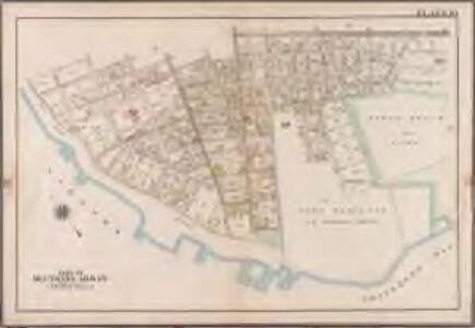 Plate 10: [Bounded by 85th Street, 1st Avenue, 86th Street, 2nd Avenue, 87th Street, 3rd Avenue., 88th Street, 5th Avenue, 86th Street, New Utrecht Avenue, Atlantic Avenue, (Dyker Beach Park) 7th Avenue, Warehouse Avenue, Cropsey Avenue, Dahlgreen Place, 92nd Street, ((Fort Hamilton) Fort Hamilton Avenue, Denyse Street, 5th Avenue and Bay Ridge Parkway.]; Atlas of the borough of Brooklyn, city of New York: from actual surveys and official plans by George W. and Walter S. Bromley.