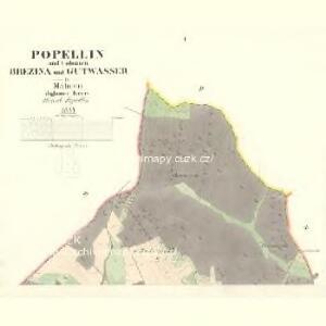 Popellin - m2363-1-001 - Kaiserpflichtexemplar der Landkarten des stabilen Katasters