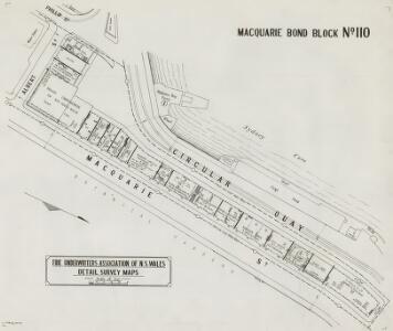 Macquarie Bond Block No.110, 29.7.24 (b&w)