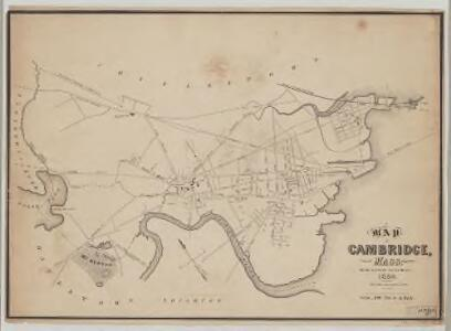 A map of Cambridge, Mass