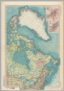 Canada - East.  Pergamon World Atlas.
