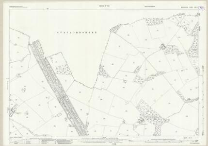 Shropshire XVI.11 (includes: Cheswardine; Sutton Upon Tern; Tyrley) - 25 Inch Map