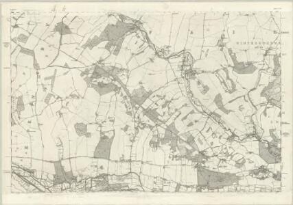 Berkshire XXXIII - OS Six-Inch Map