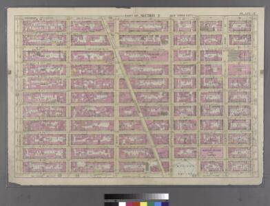 Plate 17: Bounded by W. 36th Street, E. 36th Street, Lexington Avenue, E. 25th Street, Madison Avenue, E. 26th Street, Fifth Avenue, W. 25th Street and Eighth Avenue.