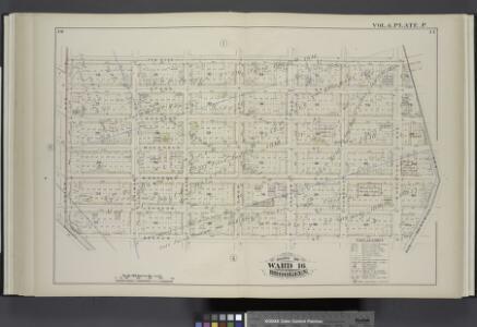Vol. 6. Plate, P. [Map bound by Ten Eyck St., Old Bushwick Ave., Broadway, Boerum St., Union Ave.; Including Stagg St., Scholes St., Meserole St., Montrose Ave., Johnson St., Lorimer St., Leonard St., Ewen St., Graham Ave., Humboldt St., Bushwick Ave.]