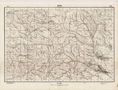 Lambert-Cholesky sheet 4060 (Arcuş)